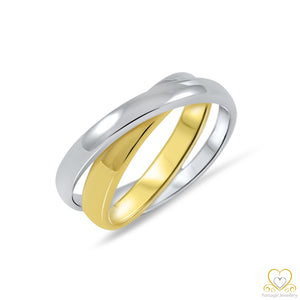 19.2ct Yellow and White Gold Ring AN0934