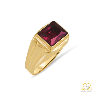 19.2ct Men's Gold Ring AN1190