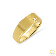 Carregar imagem no visualizador da galeria, 19.2ct Gold Men`s Ring ANH005