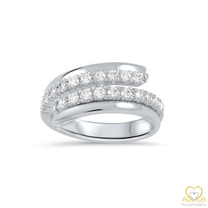 19.2ct White Gold Ring AS135528