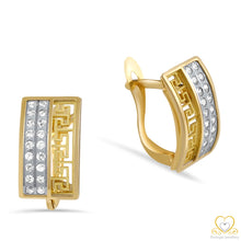 Load image into Gallery viewer, 19.2ct Gold Hoop Earrings BR1033