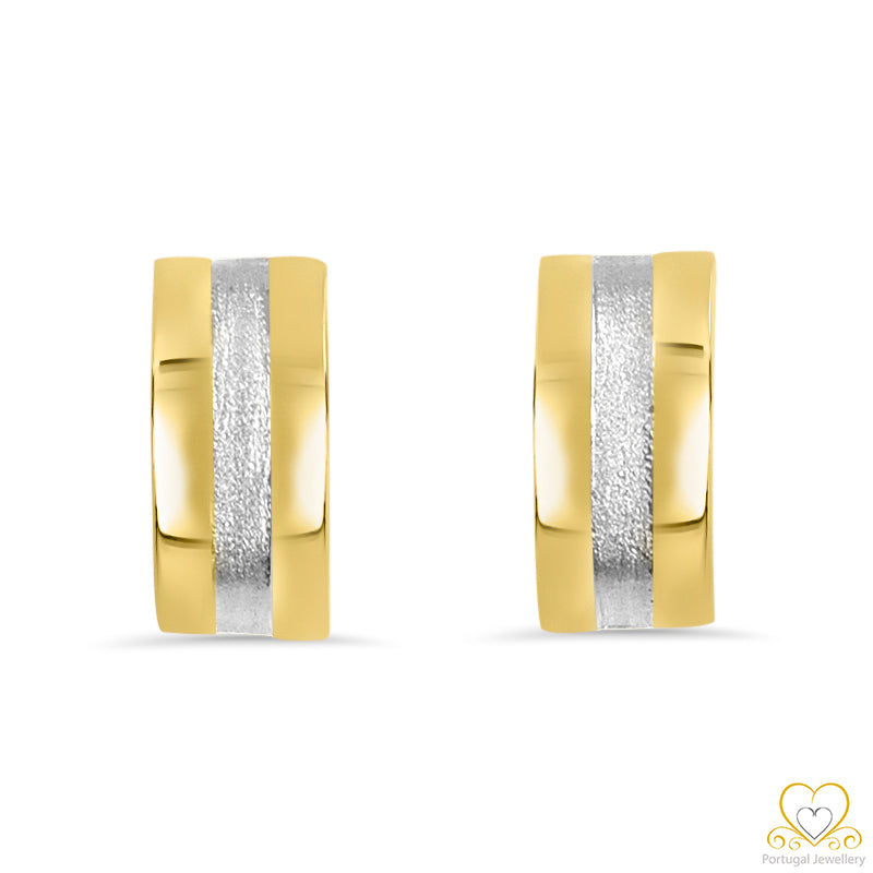 19.2ct Gold Hoop Earrings  BR034
