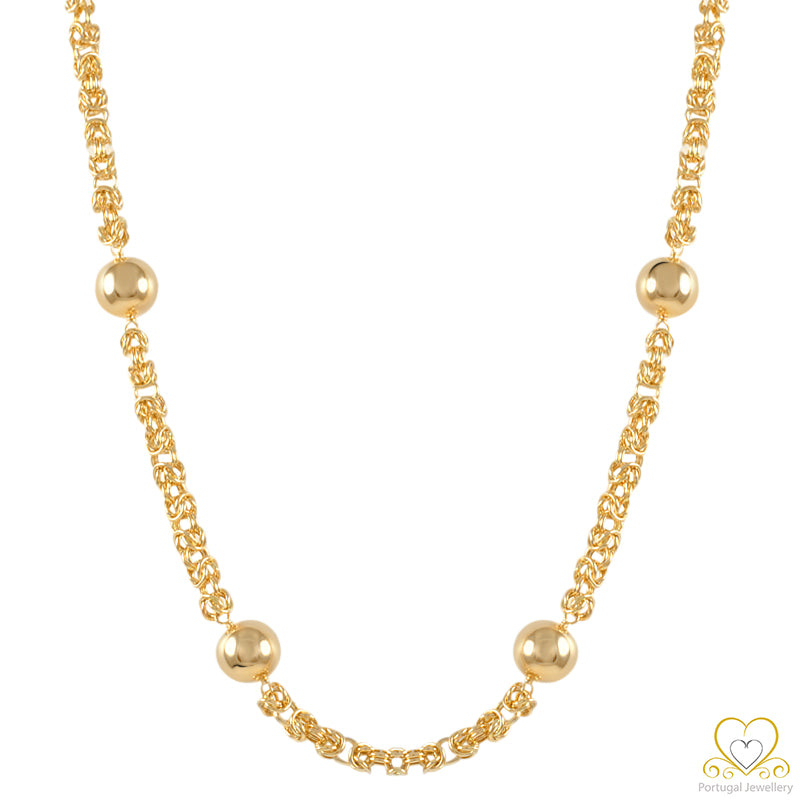 19.2ct Gold Necklace COL002