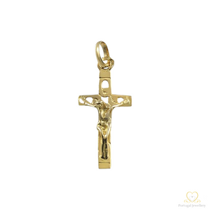19.2ct Yellow Gold Cross Pendant CR0078