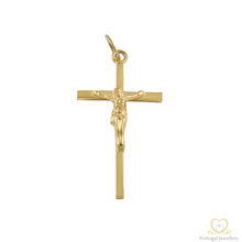 Load image into Gallery viewer, 19.2ct Yellow Gold Cross Pendant CR0226