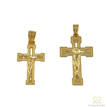 Load image into Gallery viewer, 19.2ct Yellow Gold Cross Pendant CR0268