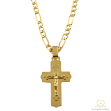 Load image into Gallery viewer, 19.2ct Yellow Gold Cross Pendant CR0302