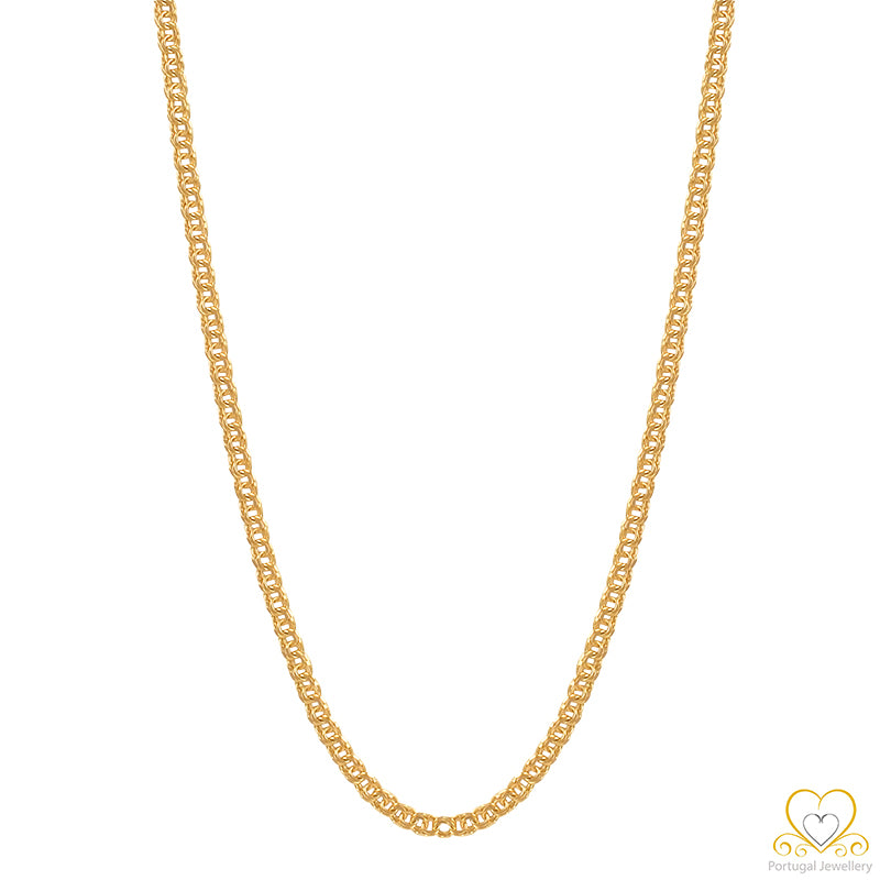 19.2ct Gold Frizo Chain FI1364