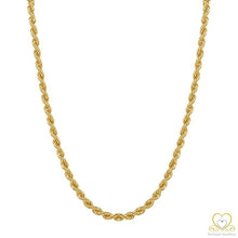 Load image into Gallery viewer, 19.2ct Yellow Gold Rope Chain FI0688