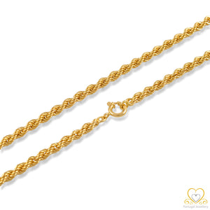 19.2ct Gold Chain FI0809