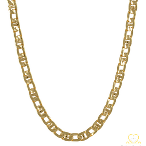 19.2ct Hollow Gold Chain FIH0832