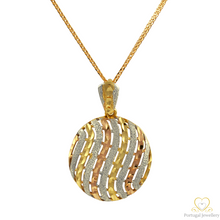 Load image into Gallery viewer, 19.2ct Yellow and White Gold Pendant ME010