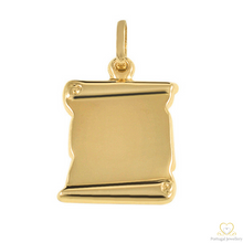 Load image into Gallery viewer, Yellow Gold Personalised Pendant ME079