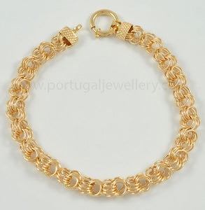 19.2ct Gold Bracelet PU001