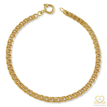 Load image into Gallery viewer, 9ct Yellow Gold 4MM Frizo Bracelet PU0112