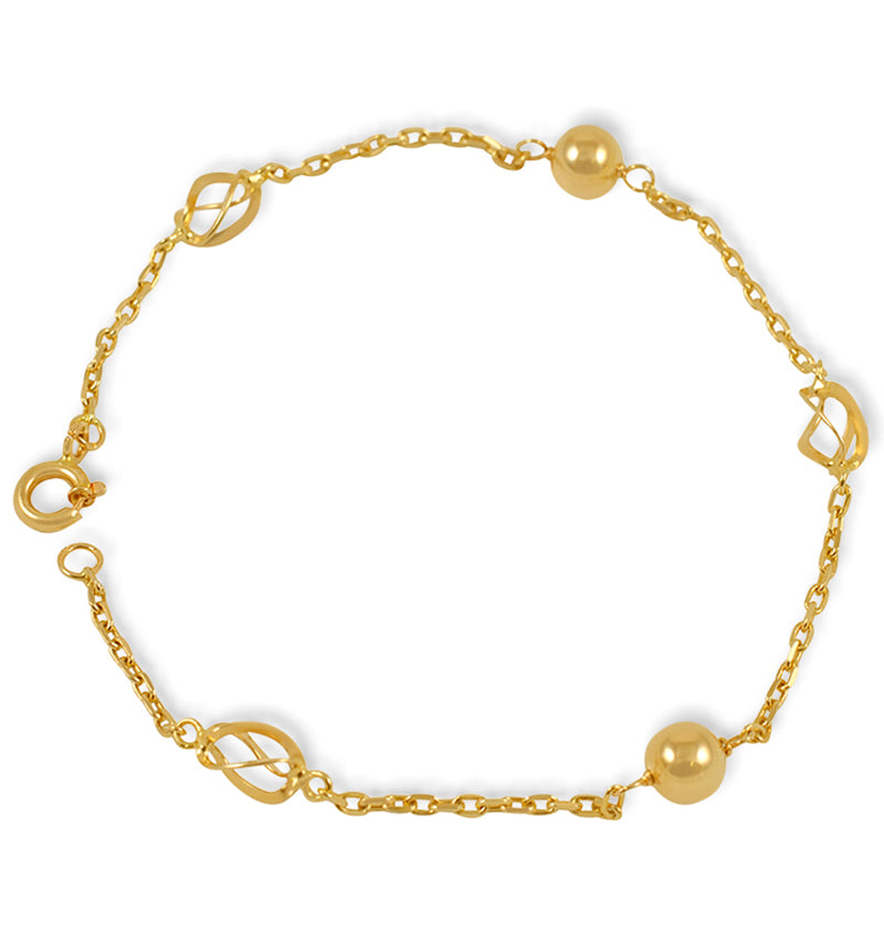 19.2ct Gold Bracelet PU027