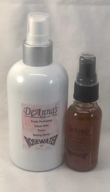 Rosewater Toner and Setting Spray