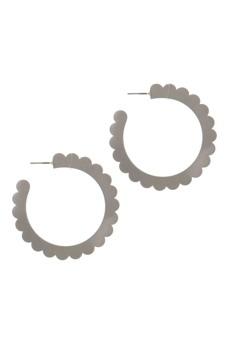 Metal Open Hoop Earring - Absolute Fashion 2020