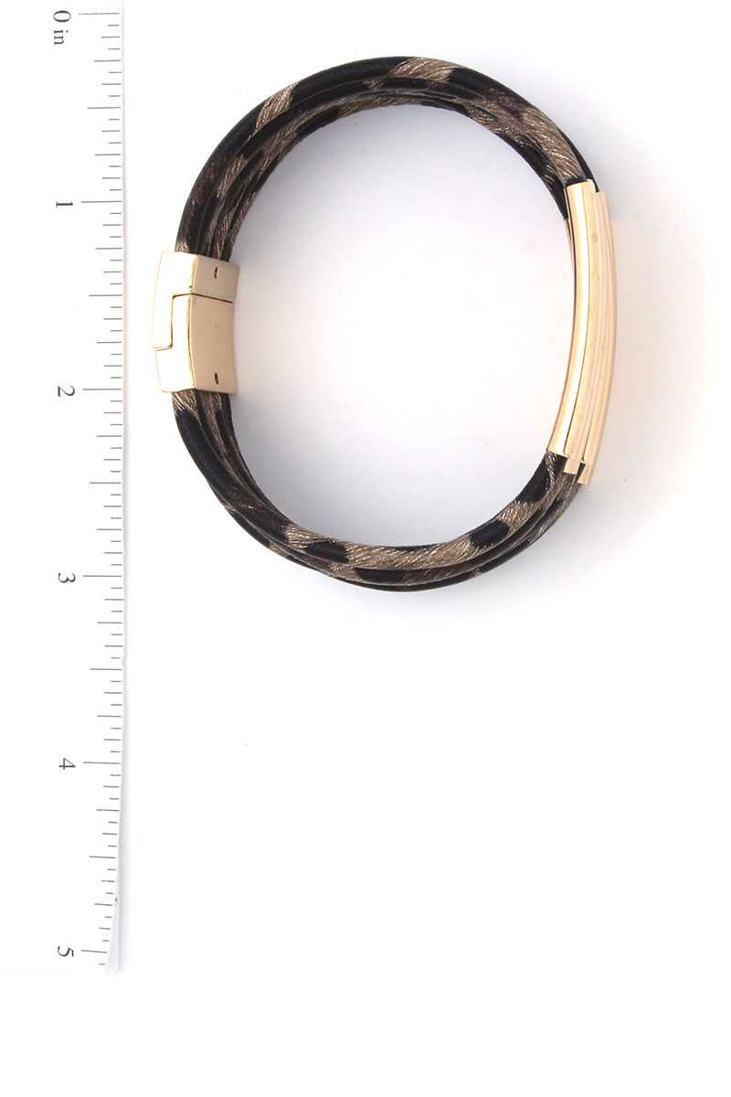 Animal Print Magnetic Bracelet - Absolute Fashion 2020