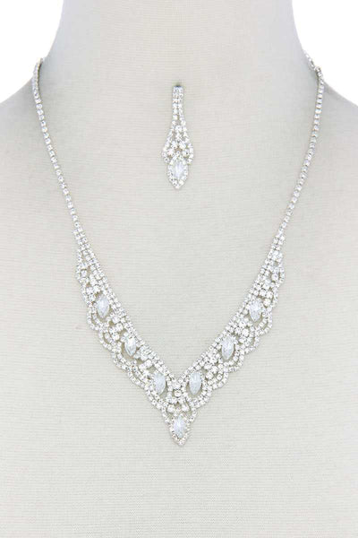 Rhinestone Necklace - Absolute Fashion 2020