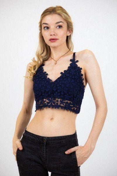 Lovely Floral Crochet Top - Absolute Fashion 2020