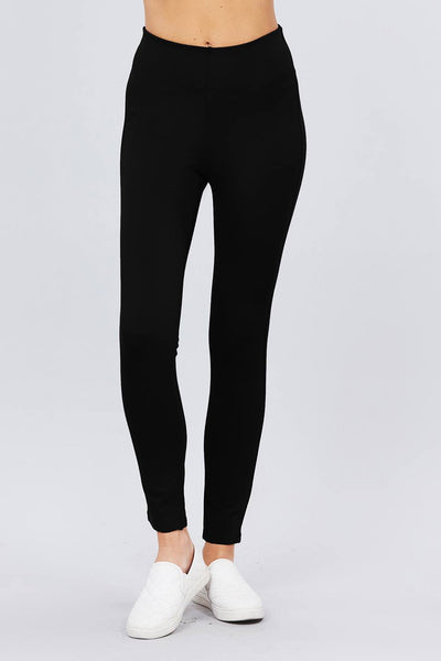 Waist Elastic Band Ponte Pants - Absolute Fashion 2020