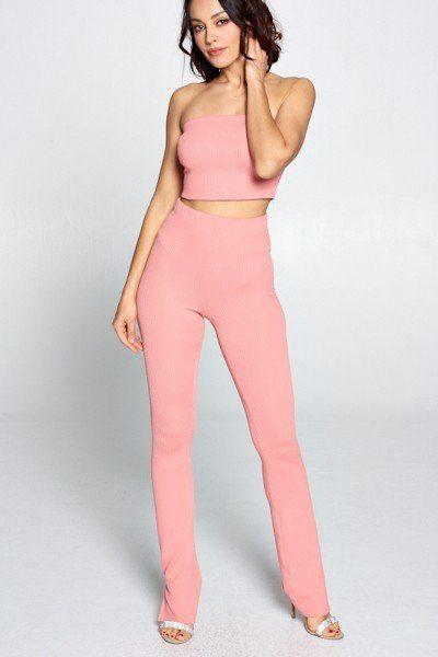 Tube Top And Pant Set - Absolute Fashion 2020
