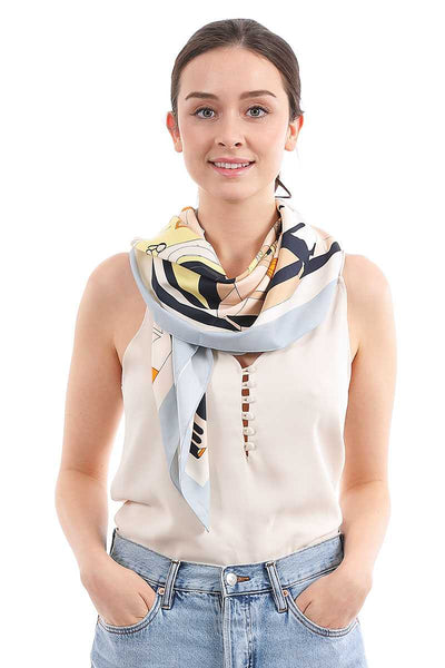Fashion Paisley Pattern Silky Scarf - Absolute Fashion 2020