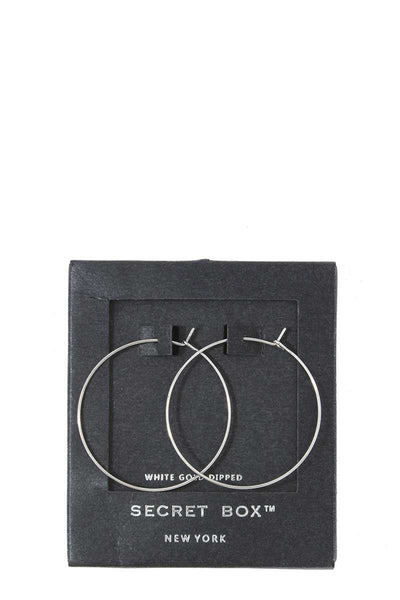 Metal Hoop Earring - Absolute Fashion 2020