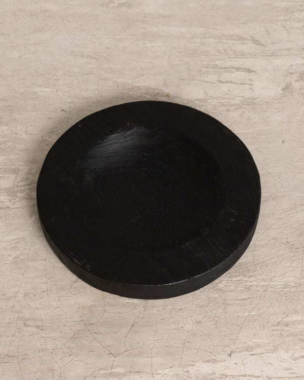 Dark Night Wooden Plate