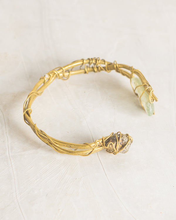 Glass Druse Bracelet