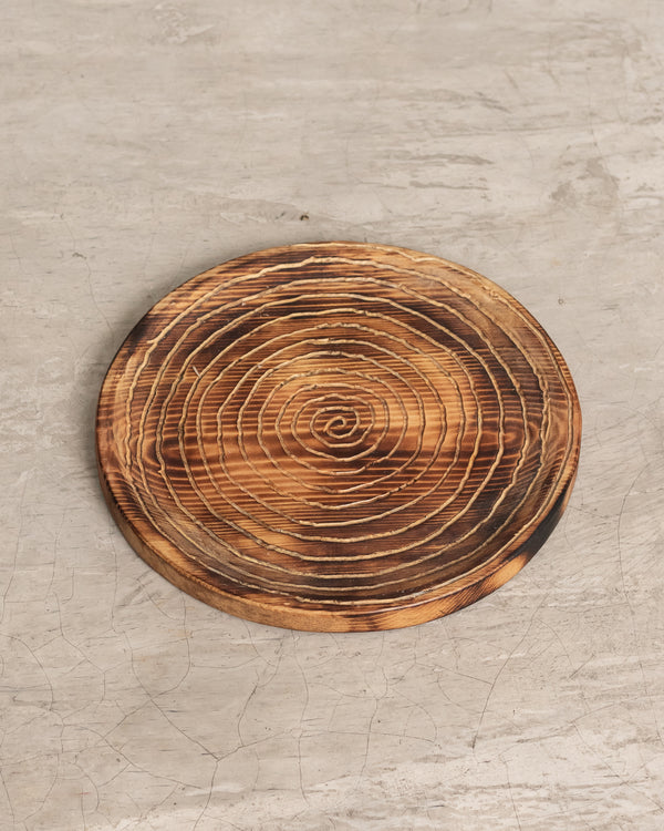 Root Wooden Plate