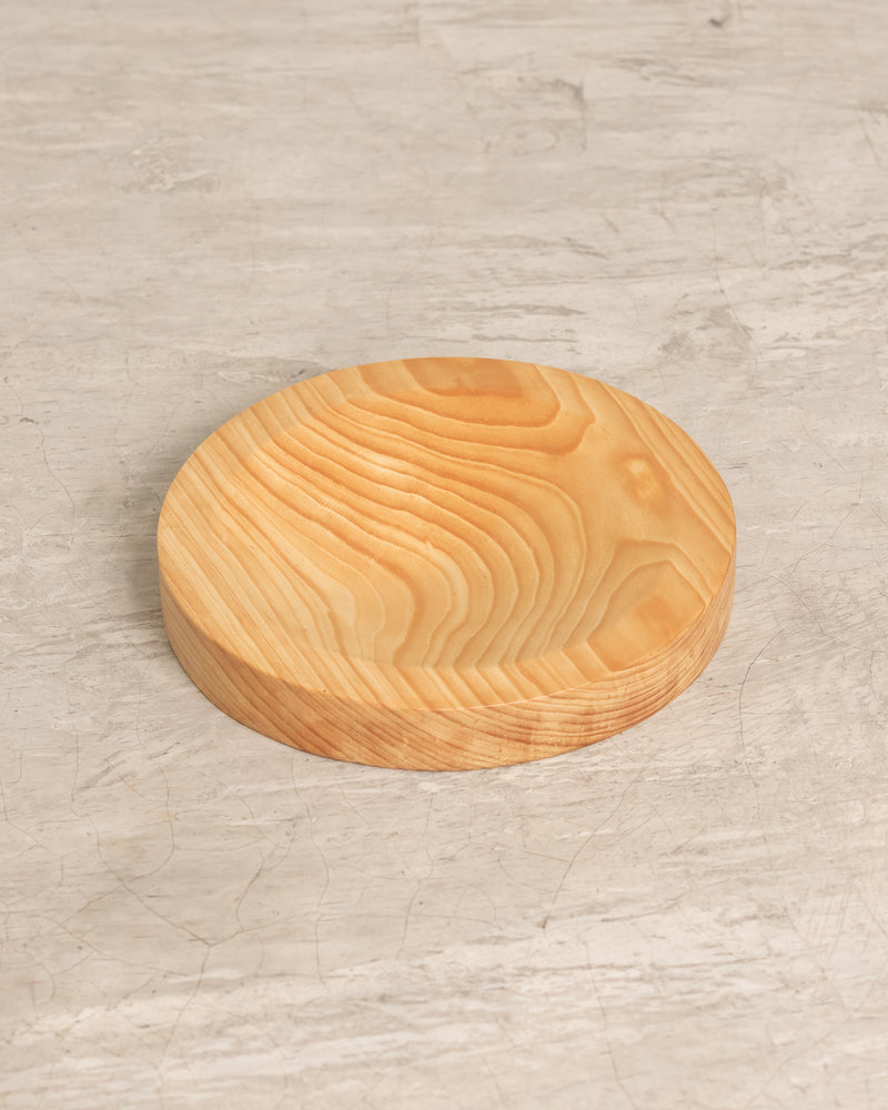 Sunset Wooden Plate