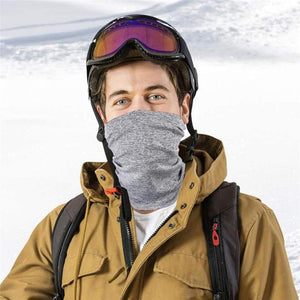 Multi-Purpose Dust Cover Bandana Cycling Fishing Neck Gaiter with Removable Carbon Filters