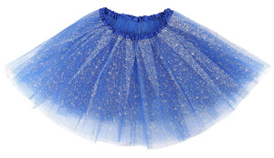Women's Adult 3 Layered Tulle Tutu Mini Skirt