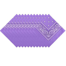 Load image into Gallery viewer, 100% Cotton Bandana Square Paisley Scarf Headband
