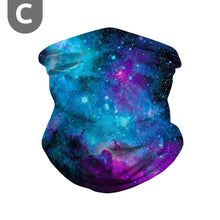 Load image into Gallery viewer, Galaxy  Bandana Sun Cooling Neck Gaiter Scarf
