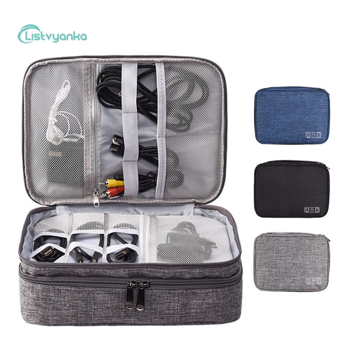 Portable Electronic Travel Storage Bag