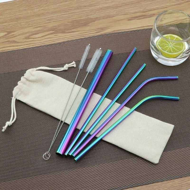 Multi: Stainless Steel Reusable Straw