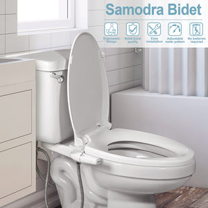 Toilet Helper: Adjustable Seat Bidet