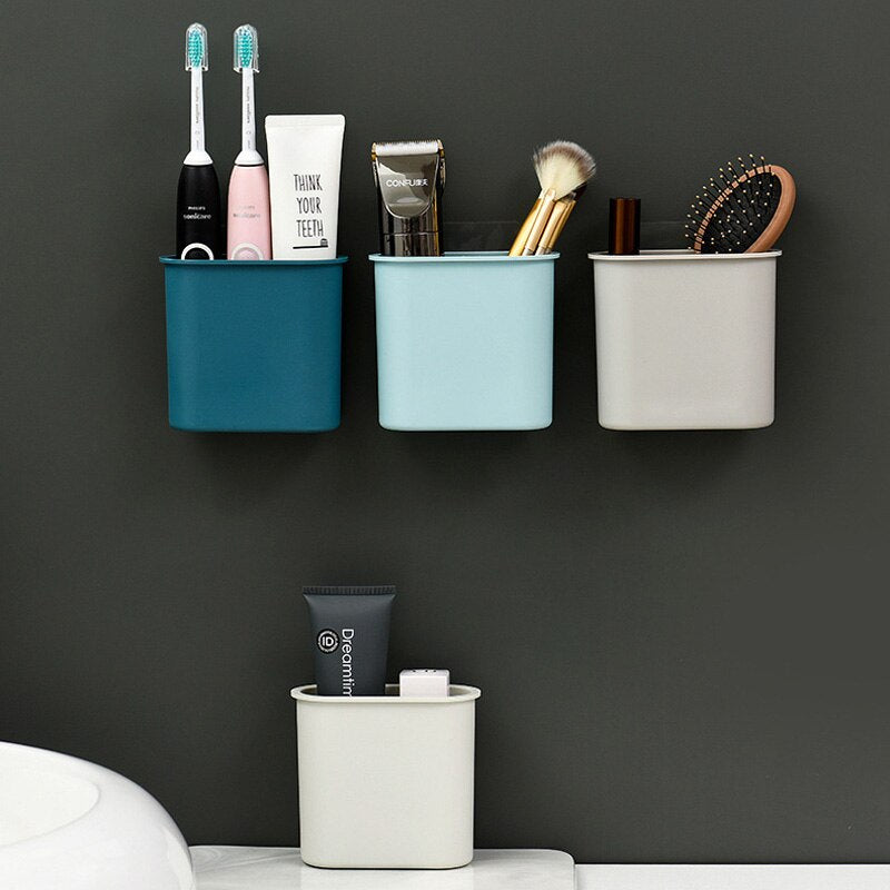 Minimalist: Suction Bathroom Storage