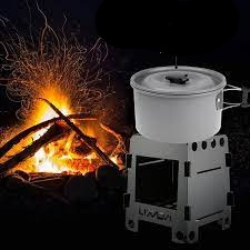 Titan: Collapsible Wood Burning Stove