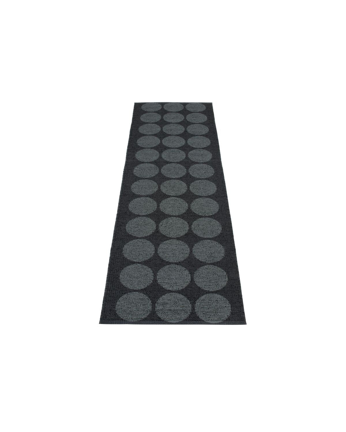 Rug HUGO Black Metallic
