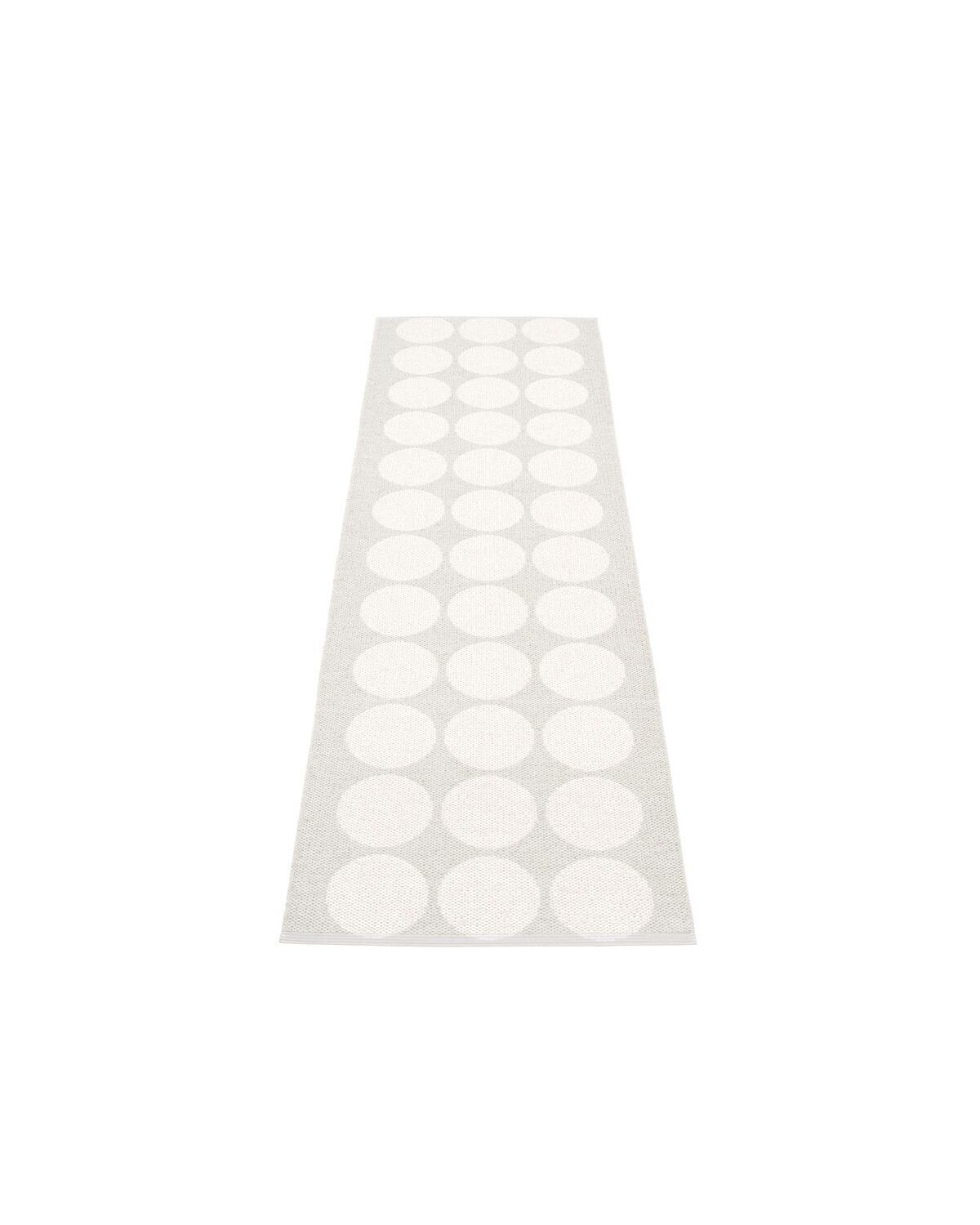 Rug HUGO White Metallic