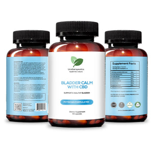BLADDERCALM™ WITH CBD (Three Pack - 180 Capsules)