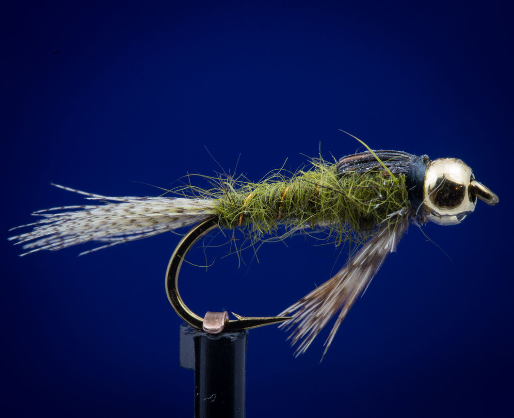 BH Gold Brass Green Drake Nymph