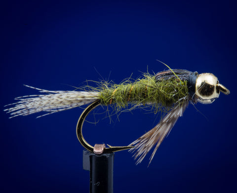 BH Tungsten Green Drake Nymph