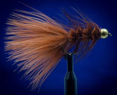 BH Tungsten Woolly Bugger Brown