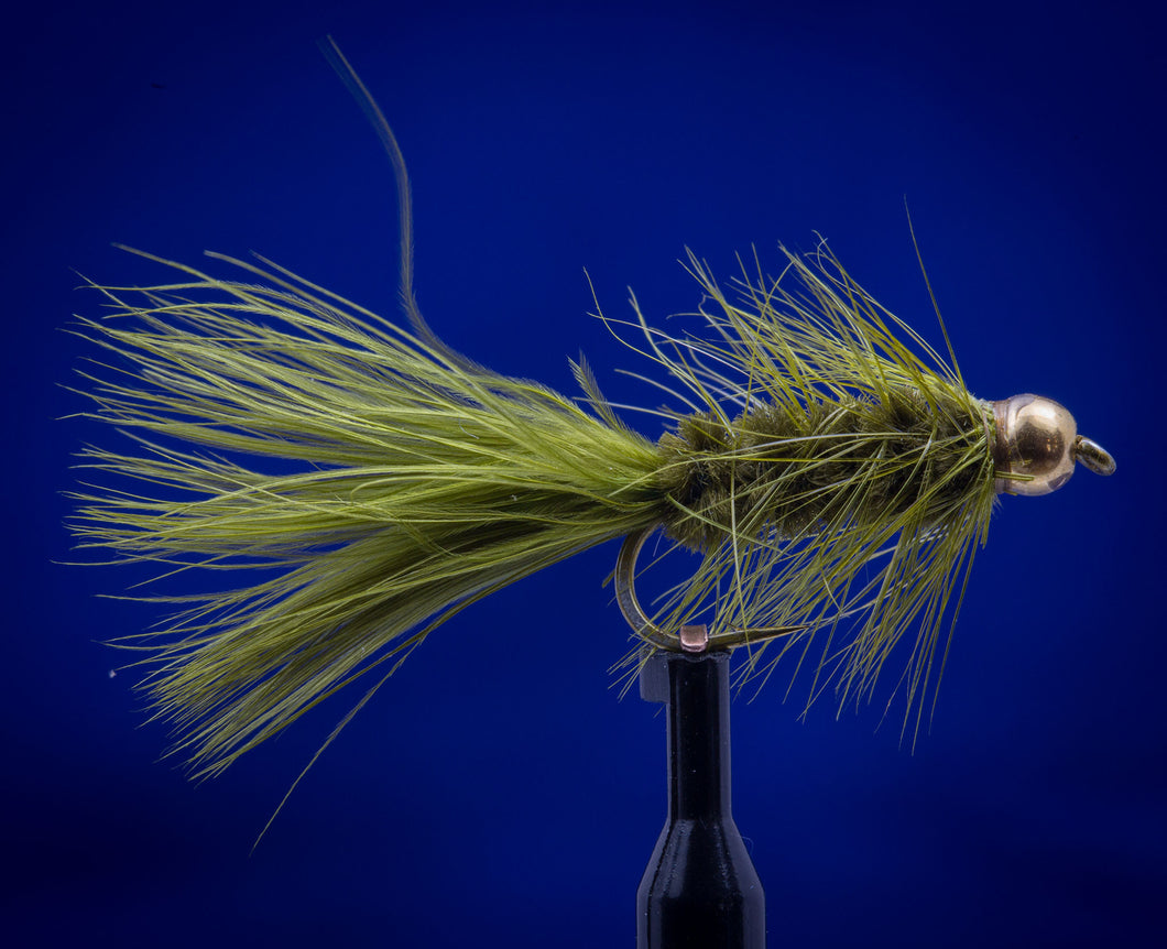 BH Tungsten Woolly Bugger Olive