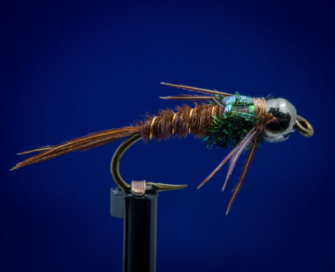 BH Black Tungsten Flashback Pheasant Tail
